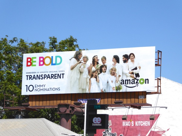 Transparent Be Bold season 2 Emmy nominations billboard