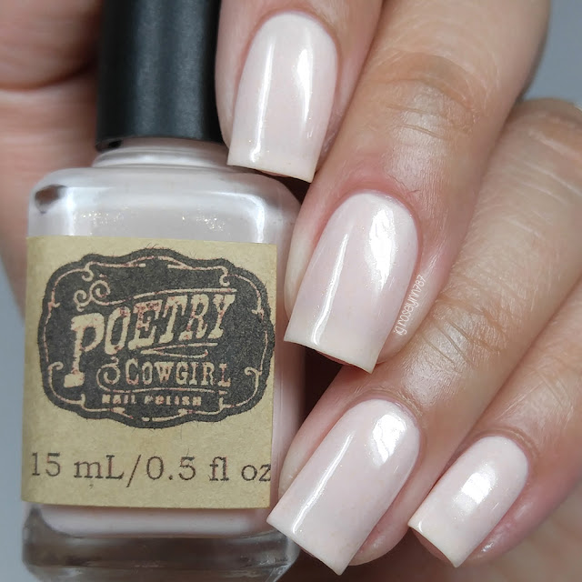 Poetry Cowgirl Nail Polish - Strawberry Milk