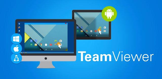 تنزيل برنامج TeamViewer Host  أفضل برامج التحكم عن بعد للاندرويد و الكمبيوتر