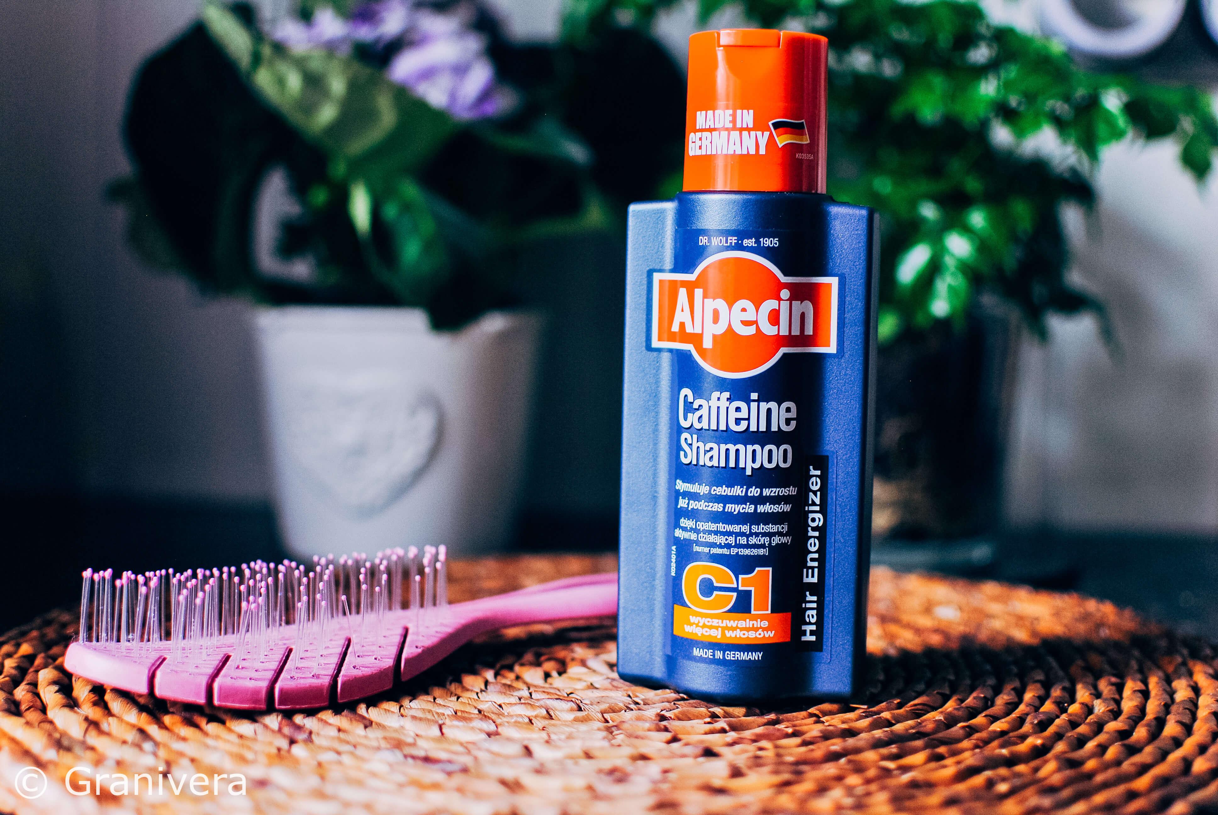 Alpecin, szampon do włosów z kofeiną C1