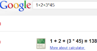 Google Calculater