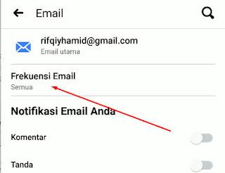 Cara Menonaktifkan Notifikasi Email Dari Facebook
