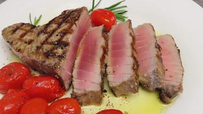 Spremite Savršeni Tuna Odrezak (Mariniran)   Perfect Grilled Tuna Steak (Marinated)