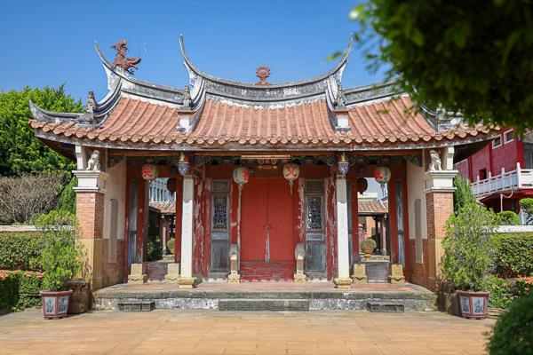 雲林西螺三級古蹟振文書院(文祠廟)創建於1814年,古風典雅,考生必訪