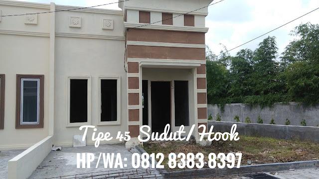 Rumah Contoh DP 0% Tipe 45 Hook Di Taman Palem Mas Tanjung Morawa Medan
