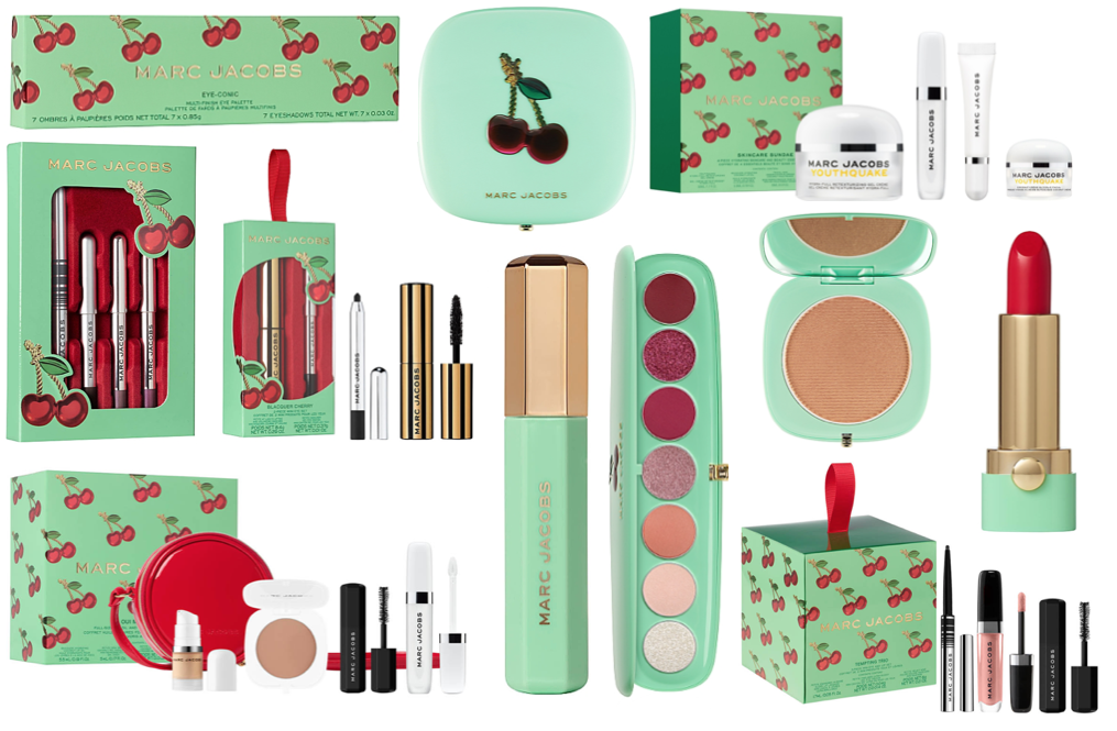 Marc Jacobs Beauty Christmas 2020 Gift Sets (Very Merry Cherry Collection)