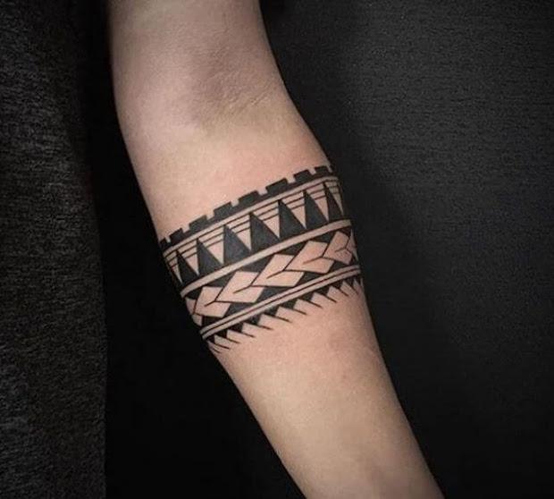 20 Tribal Armband Tattoos Ideas And Designs