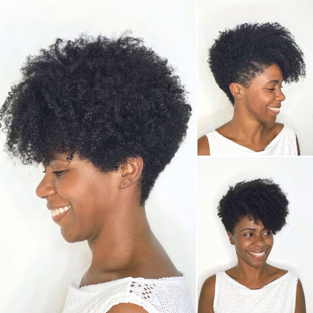 2020 Enviable Natural Hairstyles for Black Woman
