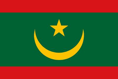 Nueva bandera de Mauritania