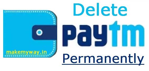 How to Delete Paytm Account |  Paytm Account Delete Permanently