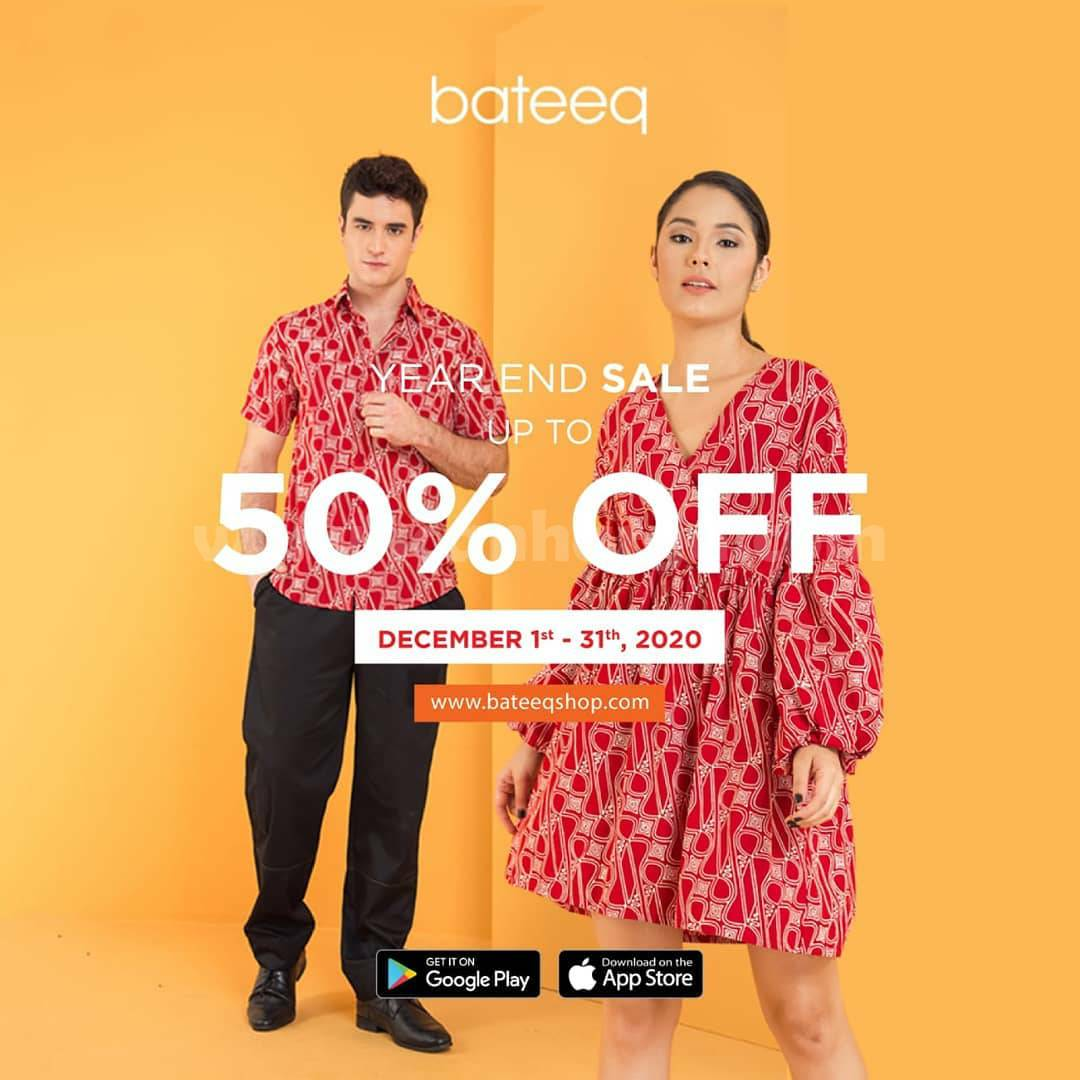 Promo Bateeq Year End Sale Up to 50% Off