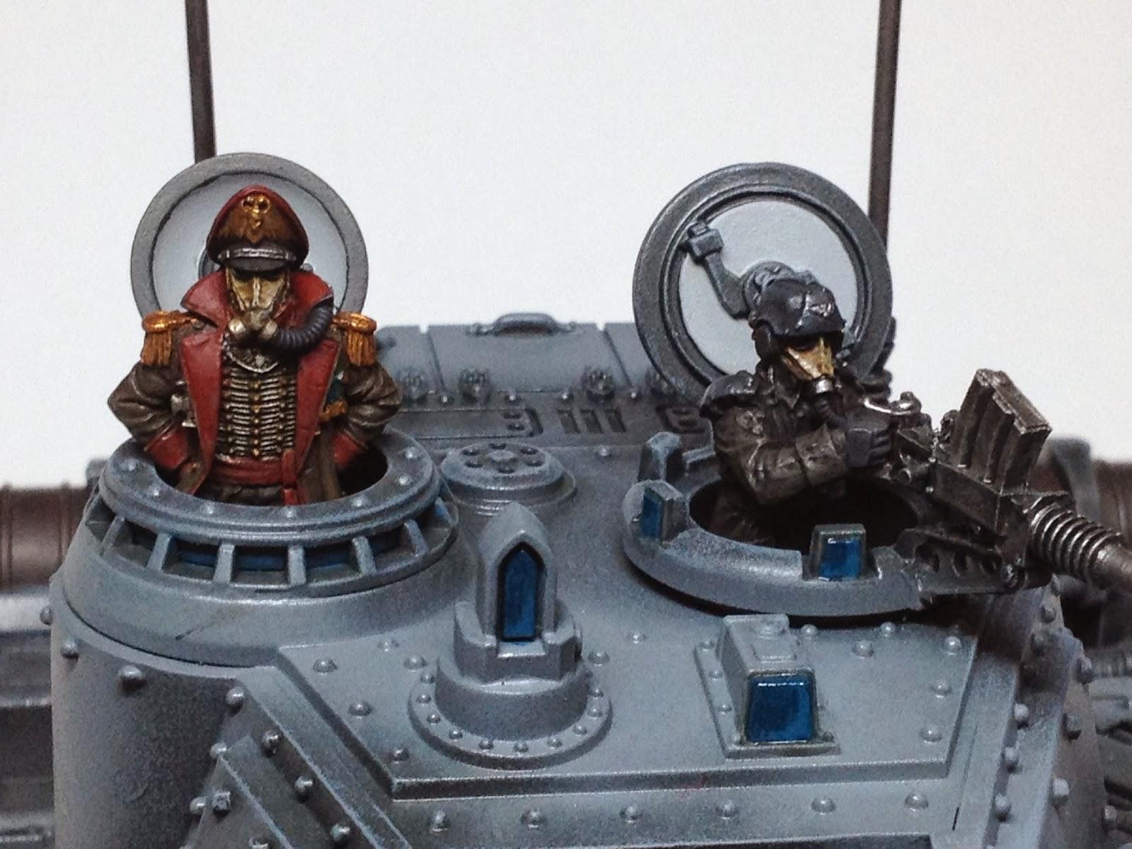 Death Korps of Krieg Baneblade WIP Turret