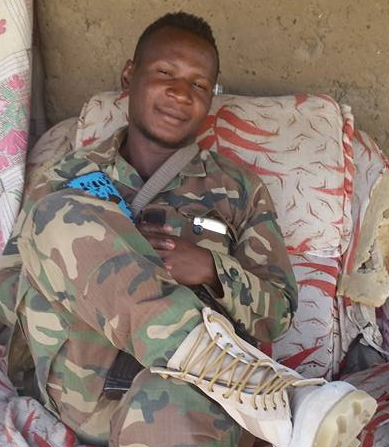 nigerian soldier without human feeling