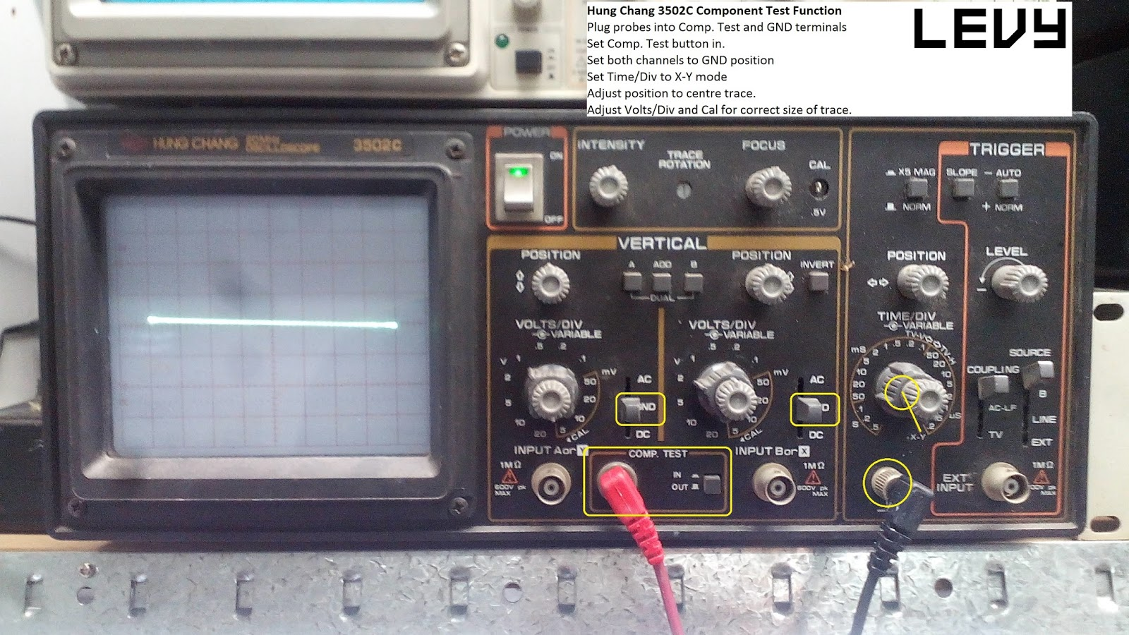 Levy Sound Design: Octopus Tester / Component Curve Tracer