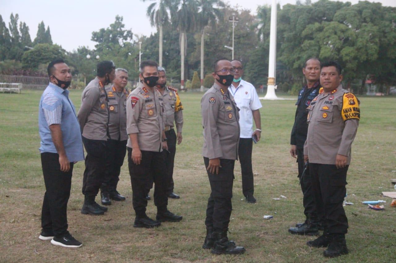 Kapolda Jambi Pimpin Langsung Pengamanan Aksi Unjuk Rasa di Kantor DPRD Provinsi Jambi