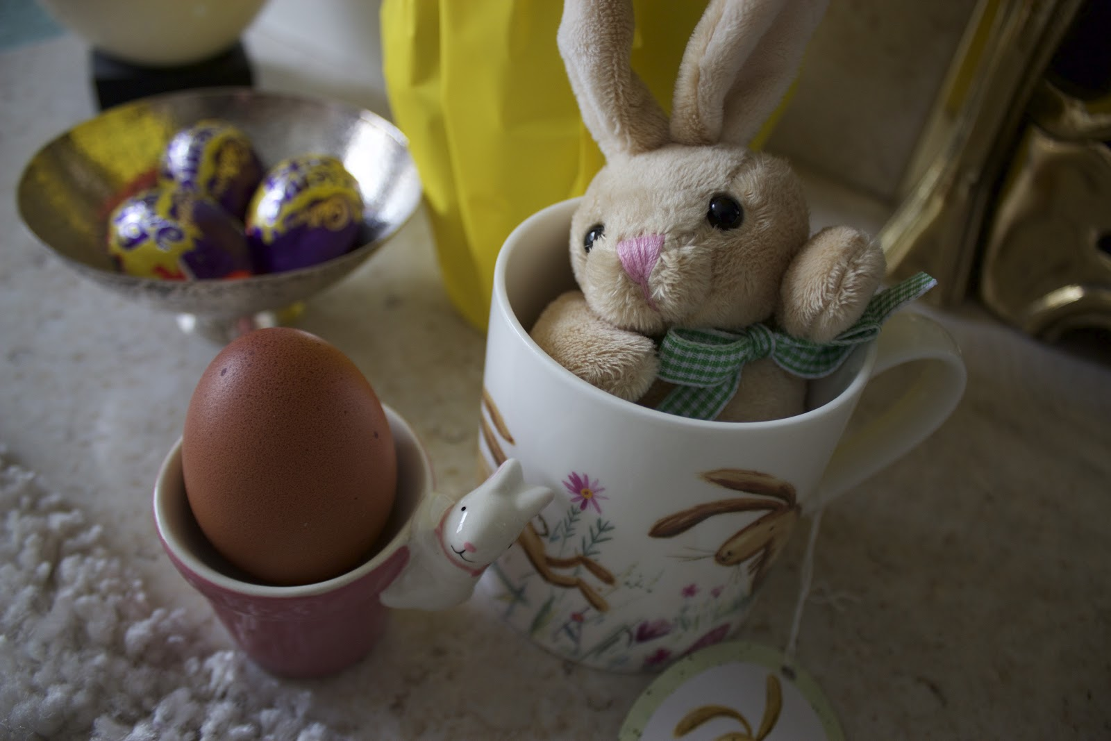 Spring homeware haul with ocean dreams that glitter xoxo by next as soon as i spotted this little bunny egg cup i simply couldnt resist its available in three sweet spring shades yellow green or pink and it negle Gallery
