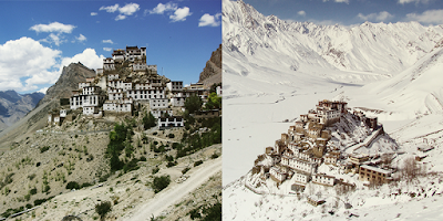 KibberKey Monastery, Himachal Pradesh (India)