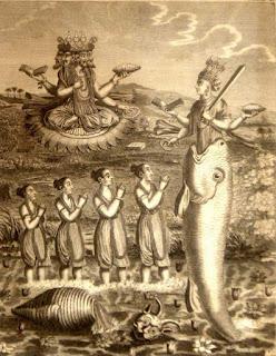 भगवान विष्णु के प्रथम अवतार: मत्स्य अवतार की कथा। story of matsya avtar in hindi.