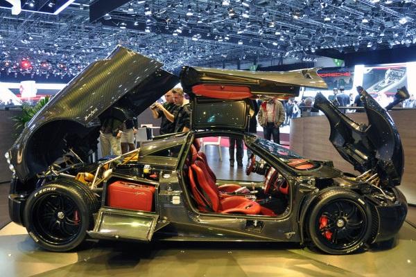 Pagani Huayra Carbon Edition