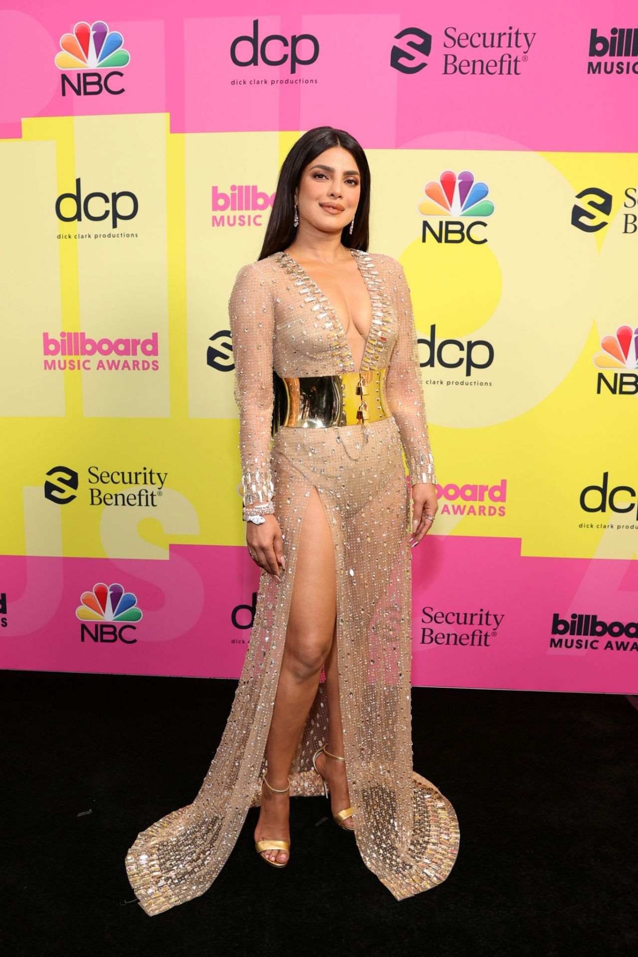 Priyanka Chopra and Nick Jonas - 2021 Billboard Music Awards at the Microsoft Theater in Los Angeles