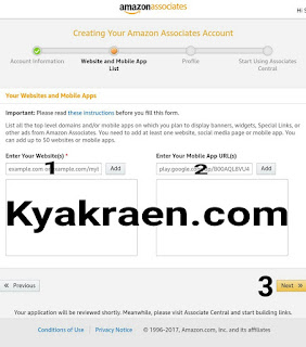 www.kyakraen.com/Amazon affiliate marketing account