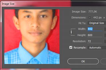 Cara Mudah Menurunkan Ukuran dan Kualitas Gambar Atau Foto Dengan Photoshop