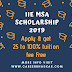 IIE MSA Scholarship 2019