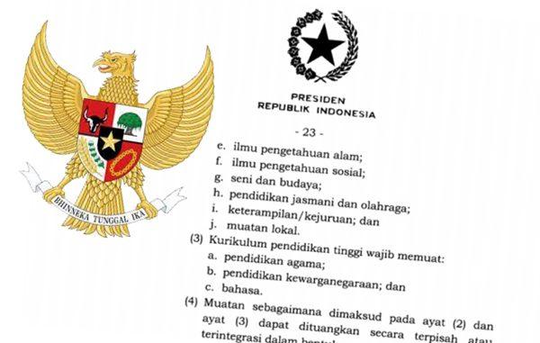 DPR: Pemerintah Lupa Cantumkan Pancasila dan Bahasa Indonesia jadi Kurikulum Wajib di Perguruan Tinggi?