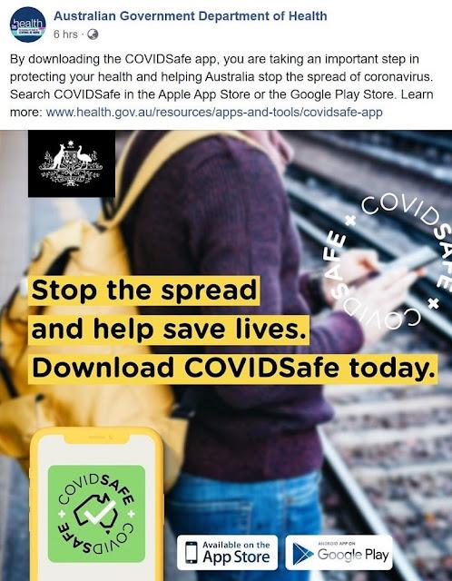Australia's Coronavirus Contact Tracing app, Covidsafe