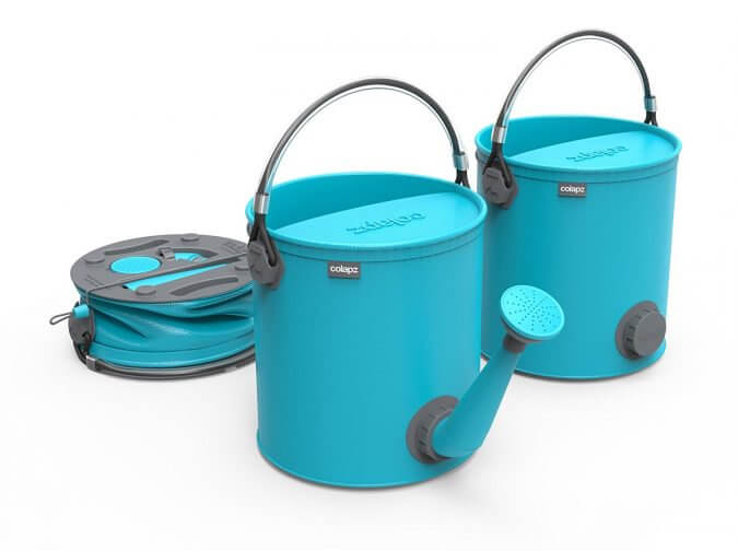 20 Smart Gadgets on Amazon That Make Life More Comfortable - COLOURWAVE Collapsible 2-in-1 Watering CanBucket