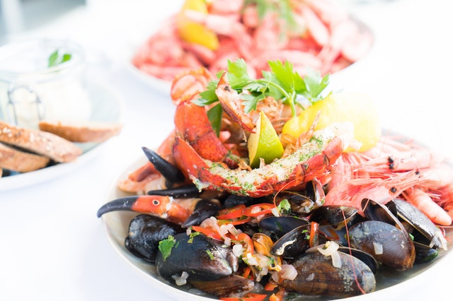 Shellfish boost your immune system