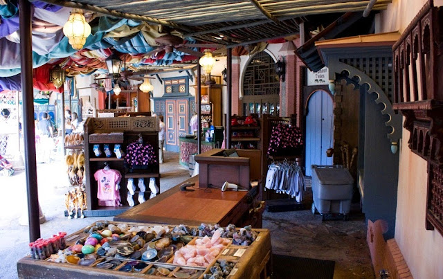 Loja Agrabah Bazaar do Aladin na Disney em Orlando