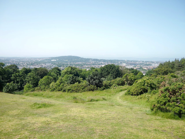 View from Eastern Craiglockhart Hill, Edinburgh