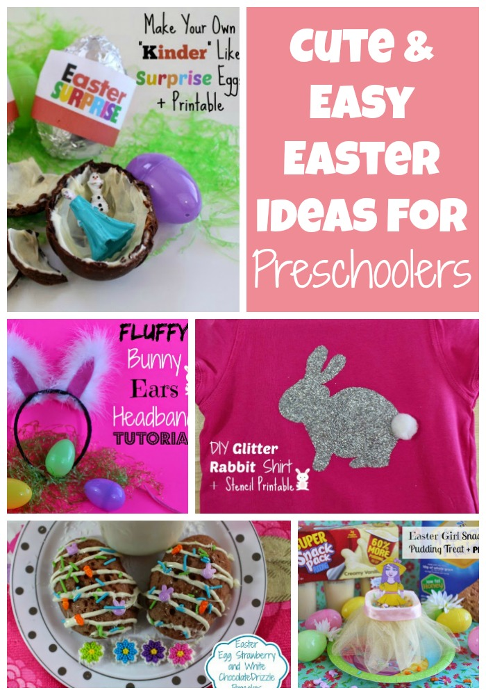Cute easy easter ideas for preschoolers first time mom and cute easy easter ideas for preschoolers negle Image collections