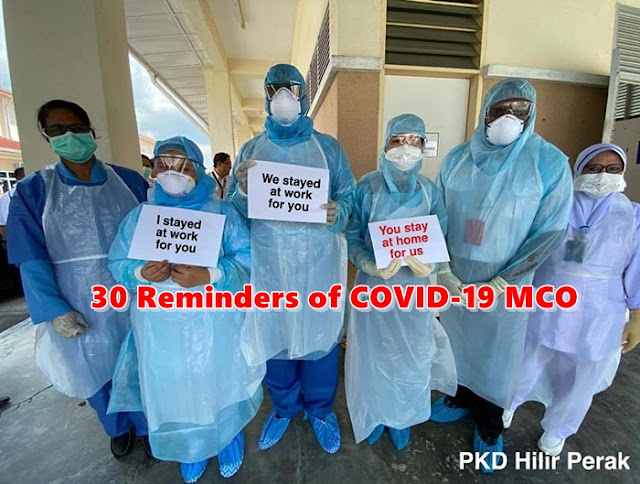 doctors, medical staff, stay at home, 30 Reminders, COVID-19, Movement Control Order, MCO, Corona virus, covid-19 pandemic. lockdown Lifestyle, Health