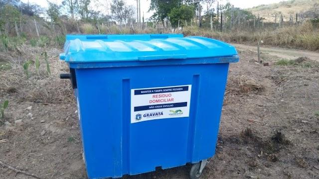 Moradores do Sítio Curral do Meio agora contam com coleta de resíduos domésticos