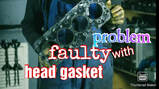Symptoms of worn out of head gasket