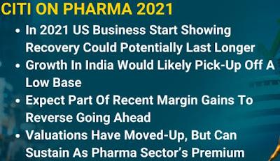 CITI On Pharma 2021 - Rupeedesk Reports