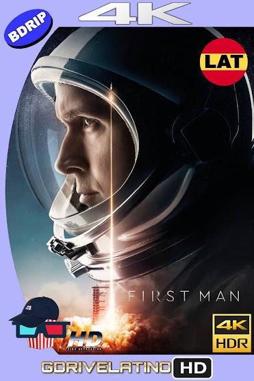 El Primer Hombre en la Luna (2018) IMAX BDRip 4K HDR Latino-Ingles MKV