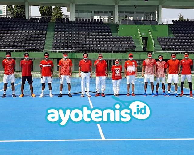 Sudah Gabung di TC Timnas Tenis Indonesia, Ari Fahresi Bertekad Berikan yang Terbaik