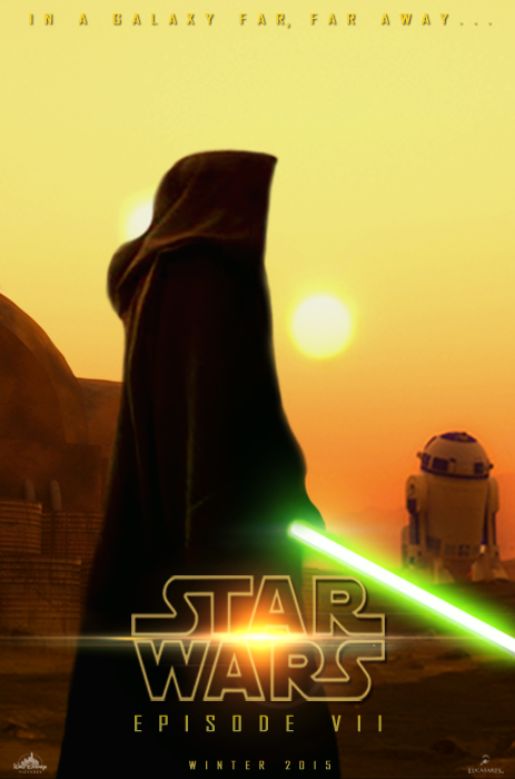 Fan Poster STAR WARS: EPISODE VII