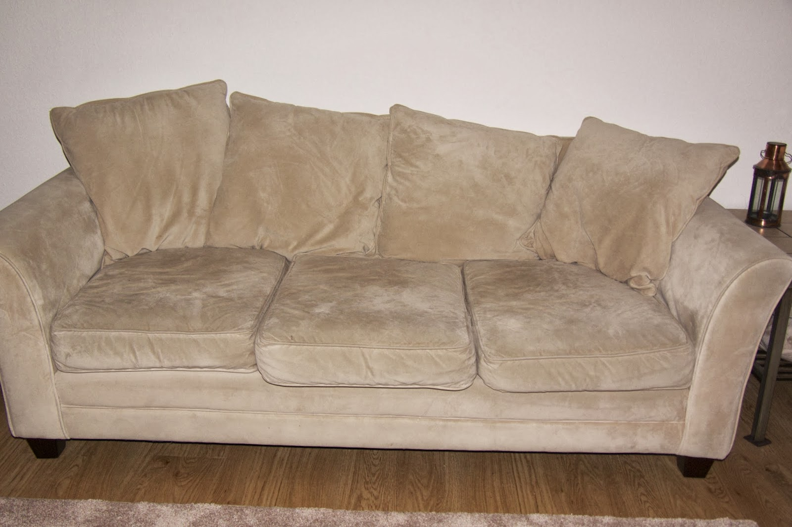 can i steam clean my leather sofa how to make a into sleeper our army life according the wife pinterest tested