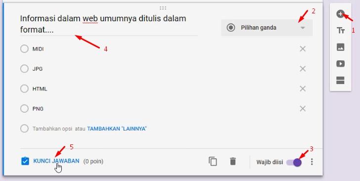 Lihat Cara Membuat Soal Google Form paling mudah
