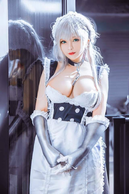 Cosplay Girls, big boobs, blonde