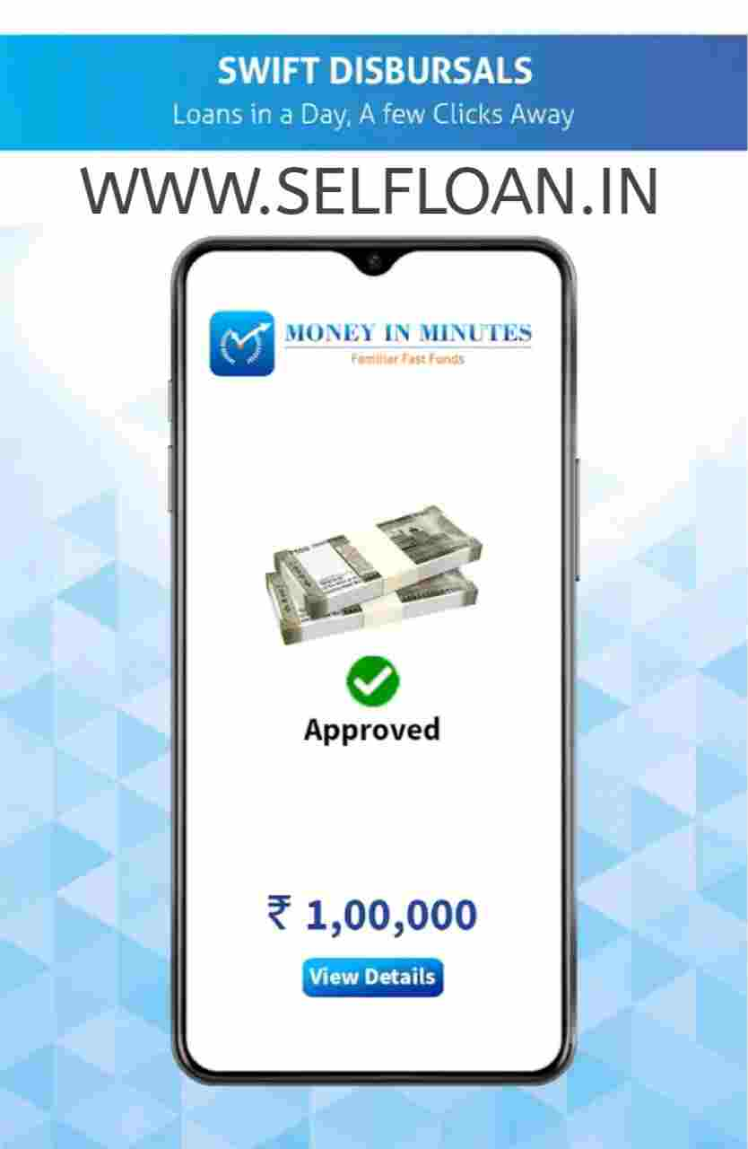 Money in minutes loans