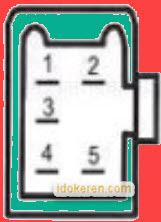 Letak Pin Socket  CDI Honda Karisma 125 dan Kirana