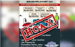 Polda Sumut: Informasi Tentang Tilang Elektronik Hoax