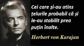 Maxima zilei: 5 aprilie - Herbert von Karajan