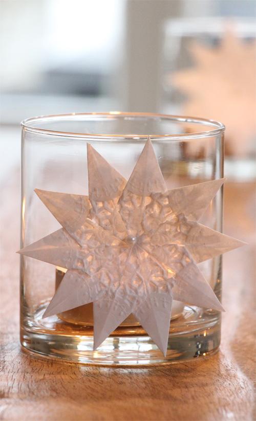Annette Diepolder, der Atelierladen, Sterne, Weihnachten, XMAS, Spitzenpapier, Teelicht, Florentiner, Weihnachtsbacken, Plätzchen, Rezept