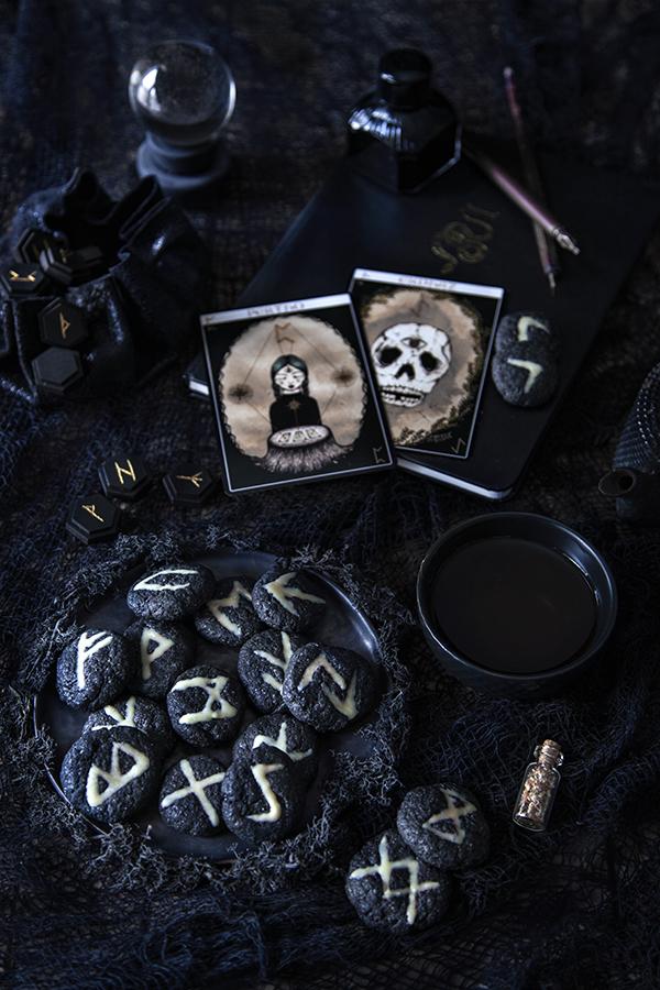 Biscuits runes pour Halloween